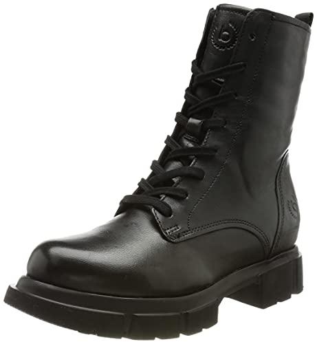 bugatti 411a0w504000, Stivali Militari Donna, Nero, 38 EU