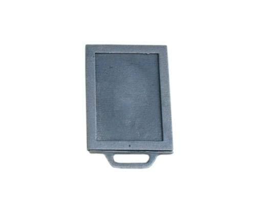 QLS Kaminschieber Drosselschieber Rauchgasregulierung Luftregulierung Guss 24 x 18 cm