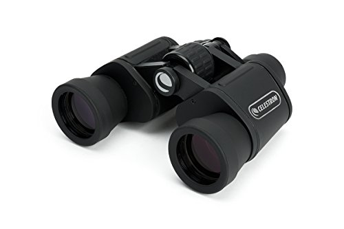 Celestron – UpClose G2 8x40 Porro Binoculars with Multi-Coated BK-7 Prism Glass – Water-Resistant Binoculars with Rubber Armored and Non-Slip Ergonomic Body for Sporting Events