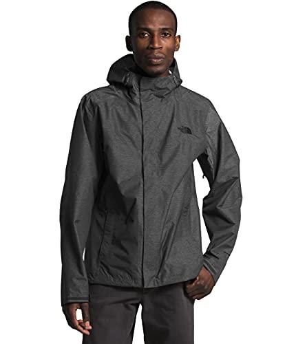 The North Face Men's Venture 2 Jacket, TNF Dark Grey Heather/TNF Dark Grey Heather/TNF Black, S