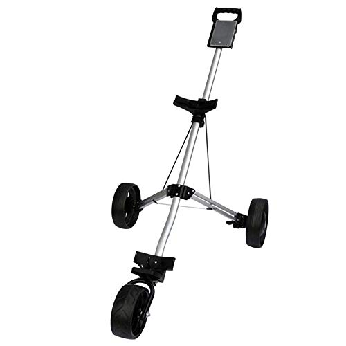 SEESEE.U Manuales Carros De Golf Compacta para Hombre Golf Trolley Junior 3 Ruedas