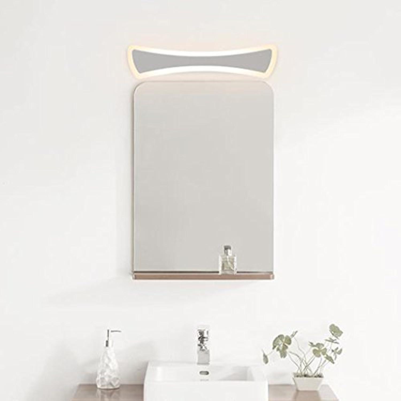 &Spiegelleuchte Spiegel Schrank Lichter, moderne Toilettenleuchten LED Spiegel Frontlicht Bad Anti-Nebel Schlafzimmer Gang Wandleuchte (Farbe   Weies Licht-40cm)