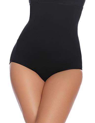 Abollria Gaine Amincissante Femme Invisible Body Gainant Bustiers Minceur Lingerie Sculptante Body Shaper Ventre Plat Combinaisons Sculptantes,Noir2,XL/Poids:80-90kg, Tour de taille:87-93cm