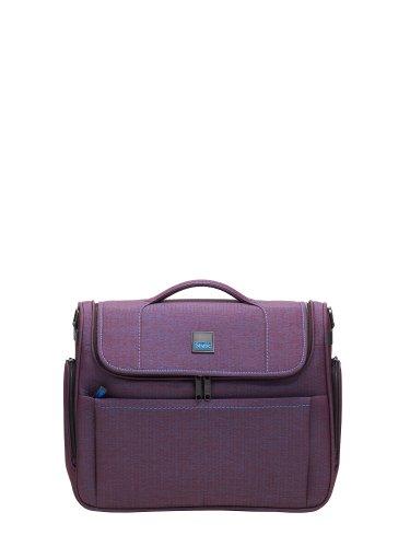 Stratic Business Bag mit Laptopfach 15,4'' AGRAVIC, aubergine-denim, 41 x 33 cm