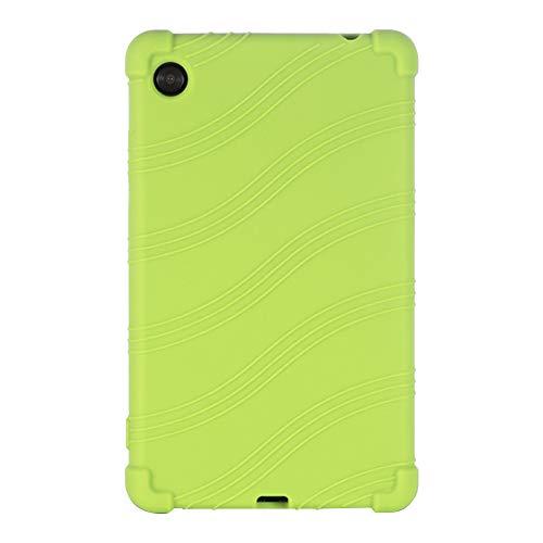 Daytwork Funda para Lenovo Tab M7 - Silicona Suave Soporte Bolsa Ligero Caucho Fundas Blandas Protector para Lenovo Tab M7 7 Inch TB-7305F/X/i Tablet