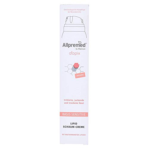 Allpremed atopix BASIS SENSITIVE Schaum-Creme, 200 ml