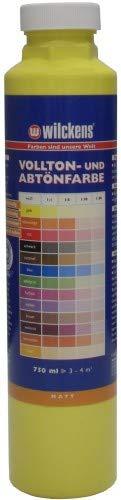 Wilckens Abtoenfarbe - Volltonfarbe / 750 ml/matt - 14 Farben zur Auswahl (Gelb)