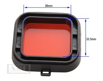 Rode Filter Voor Gopro Hero3 + Hero4 Filter Duiken roodfilter GoPro Duiken Rood Licht Duiken Filter