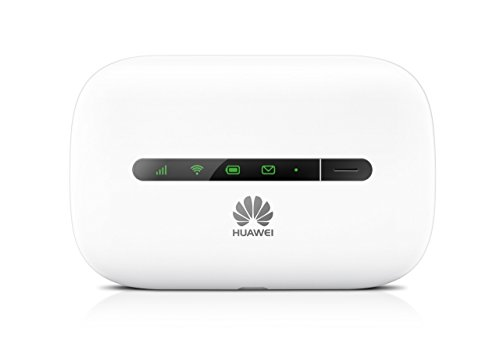 Huawei E5330 White 3G, Gaming  Travel Mobile Wi-Fi, Unlocked to all Networks with No Configuration Required- Genuine UK Warranty stock - (non network logo) (Generalüberholt)