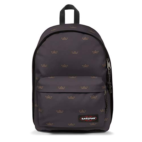 EASTPAK OUT OF OFFICE Mochila tipo casual, 44 cm, 27 liters, Gris (Minigami Boats)