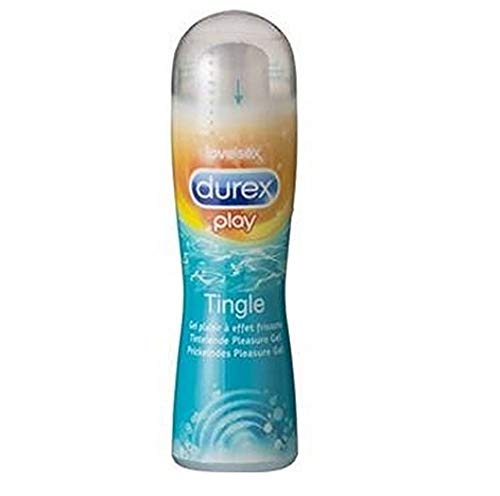 Durex Play – Tingle (Prickelnd) - Gleitgel - 2er Pack (2 x 50 ml)