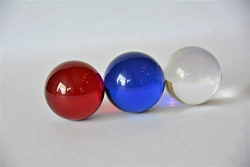 Glaskugeln in 3 edlen Farben Ø 30 mm