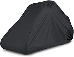 AmazonBasics Black Zero Turn Mower Cover - Small, Black