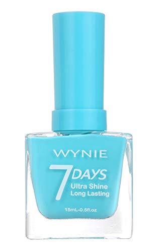 WYNIE JUMBO Nail Polish 412 - Esmalte de Uñas Secado Rápido Larga Duración tamaño Jumbo tono Azul Cielo - 15 ml