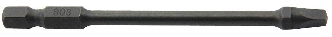 Impact Bit Be super welcome Square overseas Recess 2in.L 3 3-1
