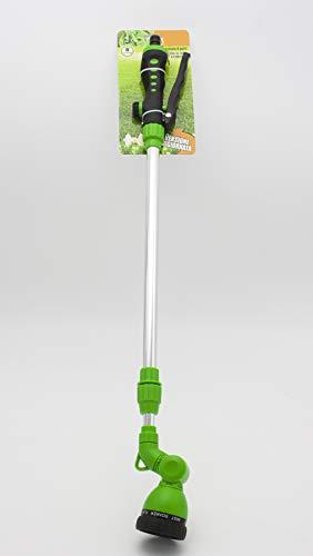 LEYENDAS Lanza de riego Pistola de riego Telescópica Extensible 8 chorros Diferentes Cabezal Regulable Profesional Riego Jardín Limpieza 102cm