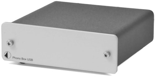 Pro-Ject Phono Box USB-versterker zilver