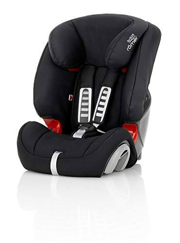Britax Römer Kindersitz 9 Monate - 12 Jahre I 9 - 36 kg I EVOLVA 123 Autositz Gruppe 1/2/3 I Cosmos Black