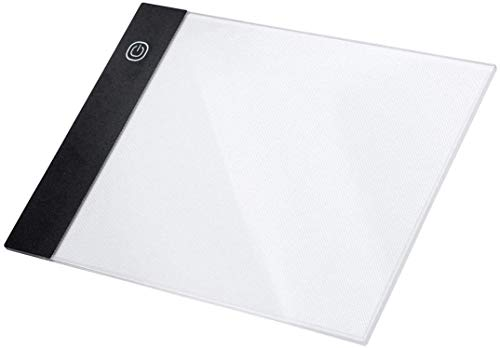 GZXHMY A5 Ultra-Thin Portable LED Dimmable Tracer Light Pad Box Board, Used for Artist, Painting,Animation, Ideal Gift