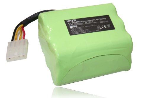 vhbw Ni-MH Ersatzakku Akku 3500mAh (7.2V) passend für Saugroboter Staubsauger Roboter Neato Robotics, Neato Signature Pro, Essential