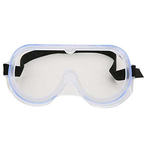 Occhiali di protezione di sicurezza, occhiali antispruzzo antispruzzo,occhiali traspiranti a tenuta stagna per correre camminando sport all'aria aperta
