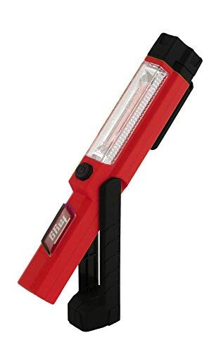 Tayg 501609 Lámpara Portátil Recargable, Rojo y Negro
