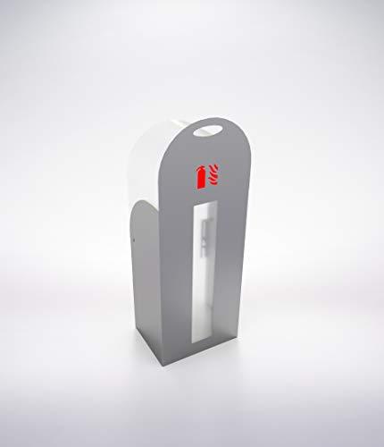 Caja Diseño Cameo, Armario Extintor 6L de Agua o Espuma, 6kg de Polvo, Extintor CO2 2kg