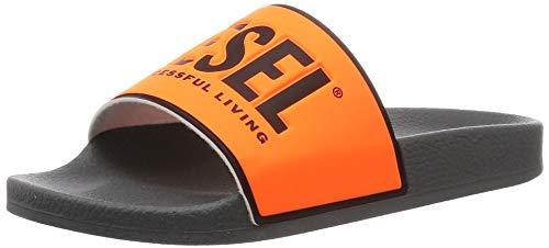 Diesel Sa-Valla - Chanclas para hombre, color Naranja, talla 46 EU