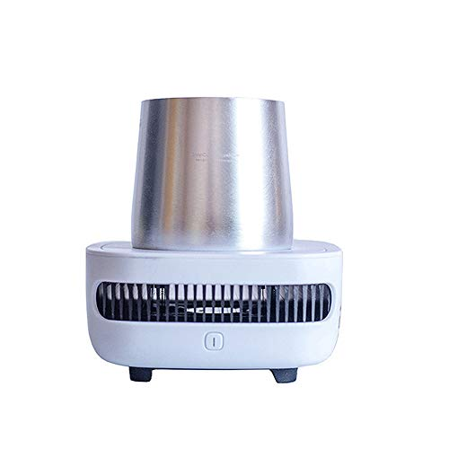 MLYWD Smart Cup Mini Snelle ijskoeling, 12V Smart Desktop Cold Cup, elektrische bekerhouder, 45W laag stroomverbruik, voor huis en auto