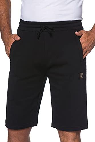 JP 1880 Herren große Größen bis 8XL, Bermuda-Shorts, Kurze Jogginghose mit elastischem Bund, Sweat-Pants mit 2 Taschen schwarz 7XL 702636 10-7XL