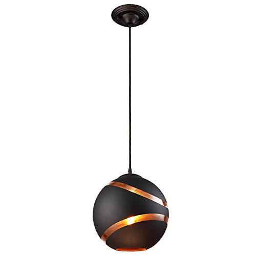 Weiwei Nordic restaurant plafondhanglampen Zwarte ronde glazen verlichting verlichting glazen vas slaapkamer Coffee bar restaurant hanglamp