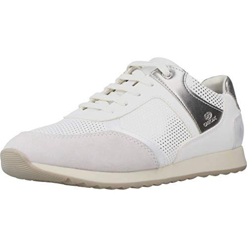 Geox Calzado Deportivo Mujer D DEYNNA para Mujer Blanco 40 EU