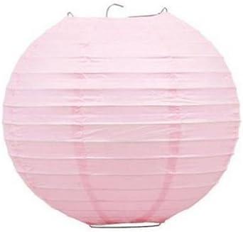 "Lovely Pink 10/"" Paper Hanging Lantern Decoration"