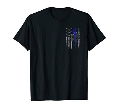 EMT / First Responder Flag T-shirt