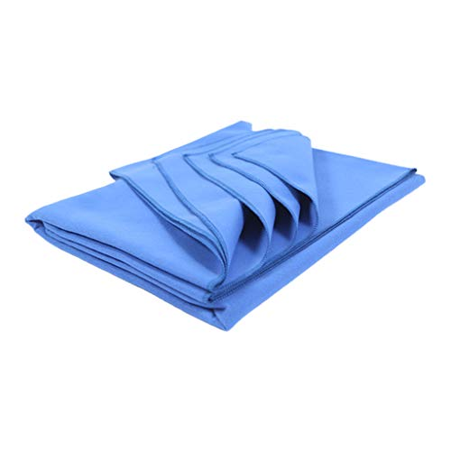 cdhgsh Faux Wool Thick Yoga Mat Fitness Blanket Non Slip Warm Pilates Meditation Towel...