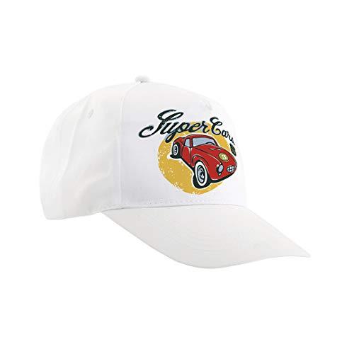 Gorra Blanca personalizada con foto o logo