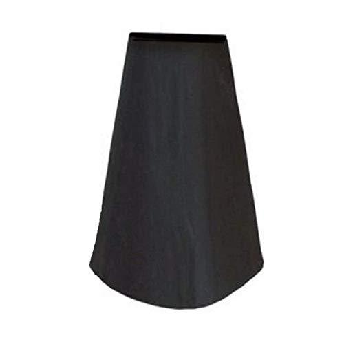 MKMKL 4 * Cubierta de Estufa al Aire Libre, Estufa de jardín de balcón. Cubierta Impermeable y a Prueba de Polvo, Cubierta del Calentador de Parrilla,Negro,48x84x21cm