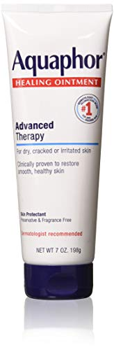 Aquaphor Healing Ointment Advanced Therapy Skin Protectant, 7 Ounce (Pack of 3)