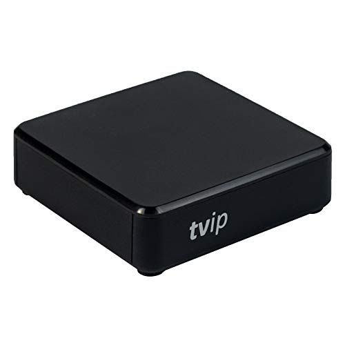 TVIP S-Box v.530 4K UHD IPTV HEVC Linux Quad Core Multimedia Stalker Interner IP TV Streamer 1GB RAM + 8GB Flash, MicroSD Card, EXT.IR