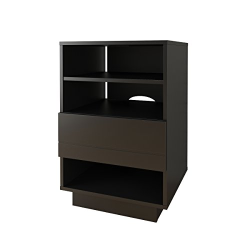 Nexera 105206 Audio Cabinet, Black