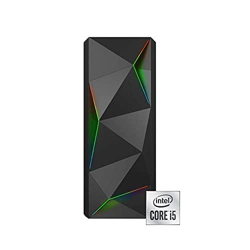 INVENTIVE P500 - Pc fisso intel i5 10400 fino 4.3Ghz 8 Core,Ram 16 Gb Ddr4,Ssd 500Gb NVMe,Windows 10 Professional,Pc Desktop,Computer fisso