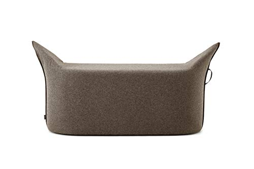 Werther - Die Möbelmanufaktur - Zipfel Bank 115 x 43 cm, Sitzhöhe 42 cm Braun