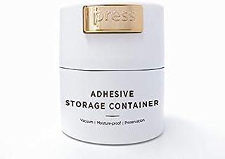 BEYELIAN Glue Storage Container Eyelash Extensions Adhesive Jar Stand Sealed Tank Lash Artists Tool White