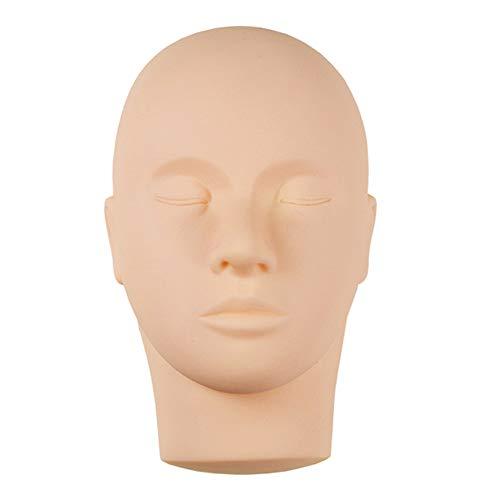 Coomir Übungs Training Kopf für Weiches Silikon Flach Makeup Cosmetology