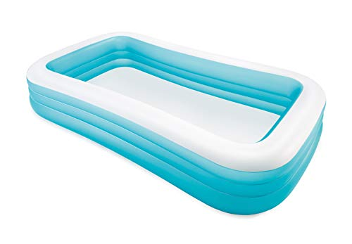 Intex Swim Center Family Inflatable Pool, 120' X 72' X 22', for Ages 6+