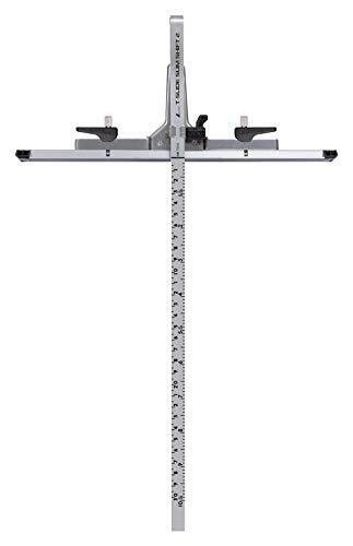 シンワ測定(Shinwa Sokutei) 丸ノコガイド定規 Tスライド スリムシフト 2 30cm 併用目盛 73542