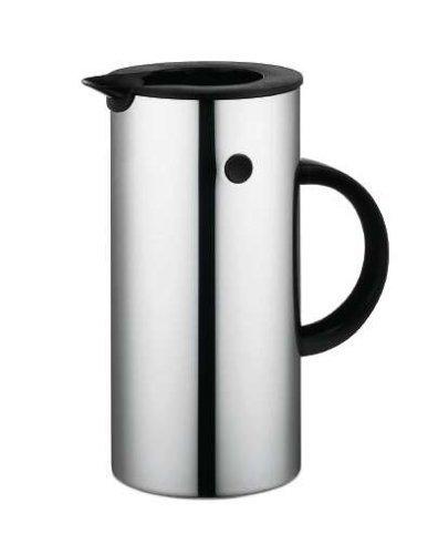 Stelton EM 77 Isolierkanne, Kaffeekanne, Kunststoff, Steel, 0.5 Liter