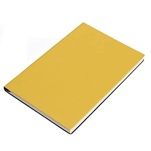 Diario Notebook A5 Soft Cuero Bloc de Notas Negocio Notebook Creativo Papelería Diario Libro Estudiante Diario Oficina Suministros Escolares Herramienta de Escritura Cuaderno