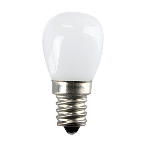 Bombilla de rosca LED, 220 V, 2 W, 2835SMD, ahorro de energía, luz LED para refrigerador, congelador, electrodoméstico, lámpara de tornillo, Warm White, E12 1pcs