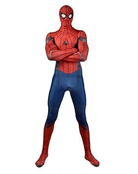 Spider Man Homecoming Adult/Kids Zentai Halloween Costume  Adult-2X-Large Spider Man Homecoming